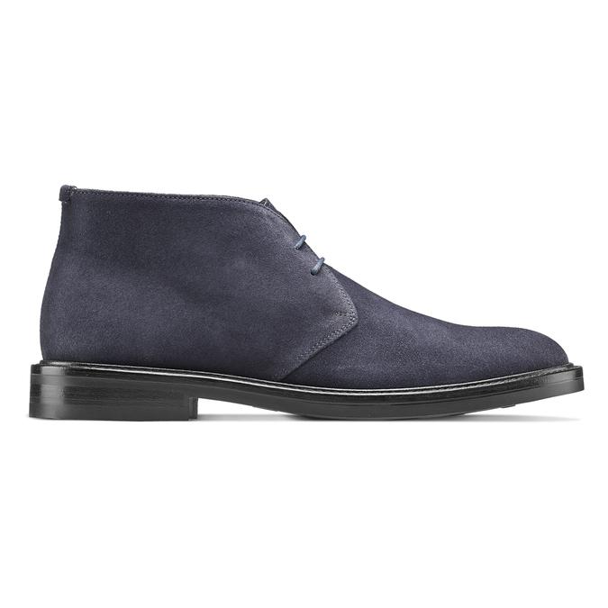 Men's shoes bata, Bleu, 893-9734 - 26