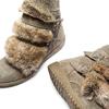 Women's shoes bata, Gris, 593-2442 - 19