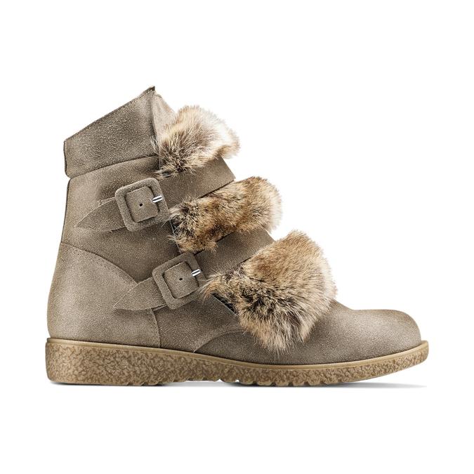 Women's shoes bata, Gris, 593-2442 - 26