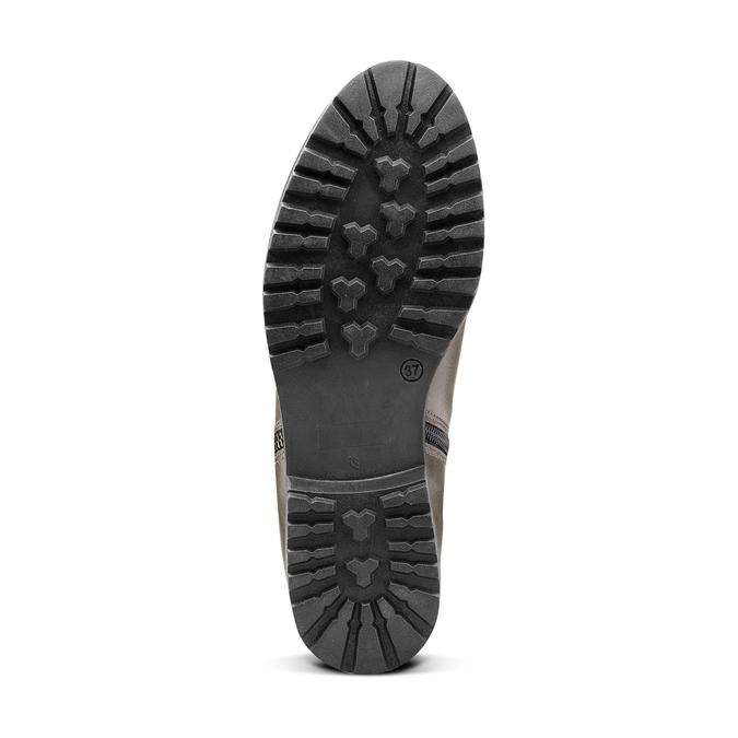 Women's shoes bata, Gris, 594-2583 - 17