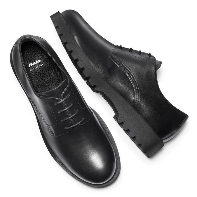 Men's shoes bata, Noir, 824-6136 - 19