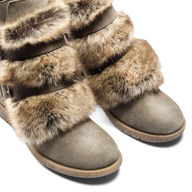 Women's shoes bata, Gris, 593-2442 - 15
