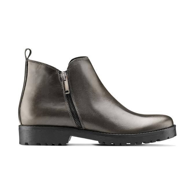 Women's shoes bata, Gris, 594-2583 - 26