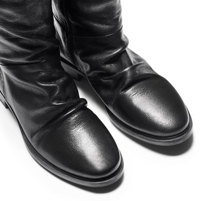 Women's shoes bata, Noir, 594-6355 - 15