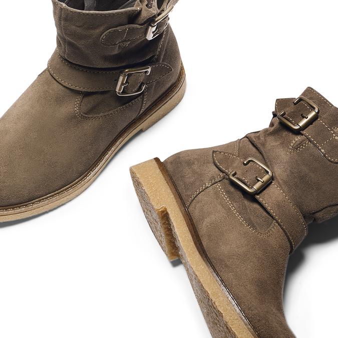 Childrens shoes mini-b, Brun, 393-3426 - 19