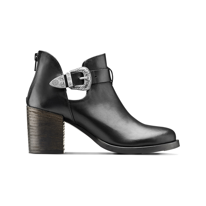 Women's shoes bata, Noir, 794-6189 - 26