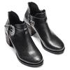 Women's shoes bata, Noir, 794-6189 - 15
