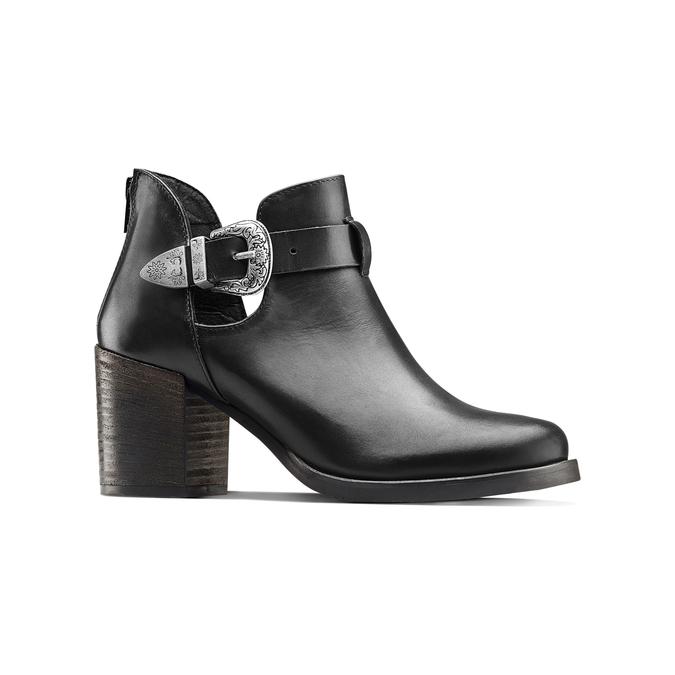 Women's shoes bata, Noir, 794-6189 - 13