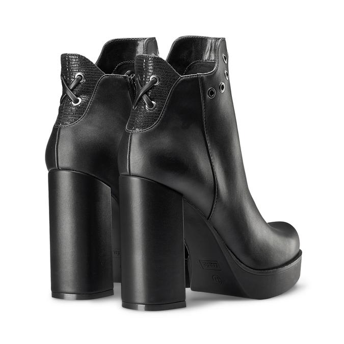 Women's shoes bata, Noir, 791-6658 - 19