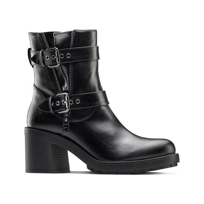 Women's shoes bata, Noir, 791-6680 - 13