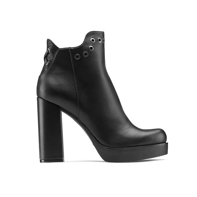 Women's shoes bata, Noir, 791-6658 - 26