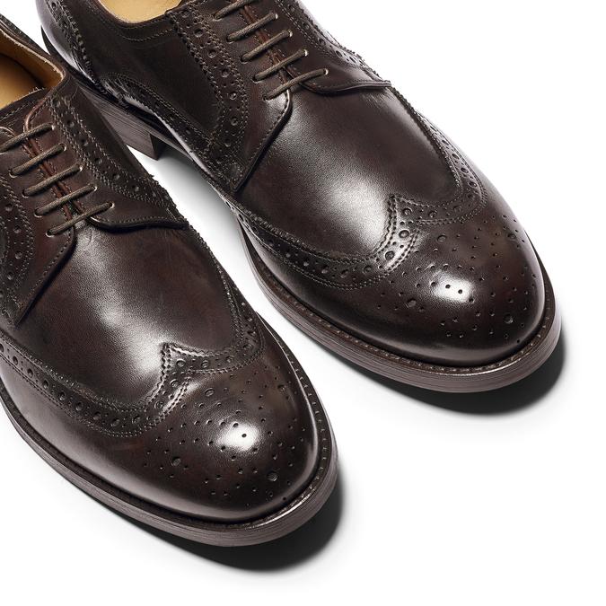 Men's shoes bata-the-shoemaker, Brun, 824-4185 - 19