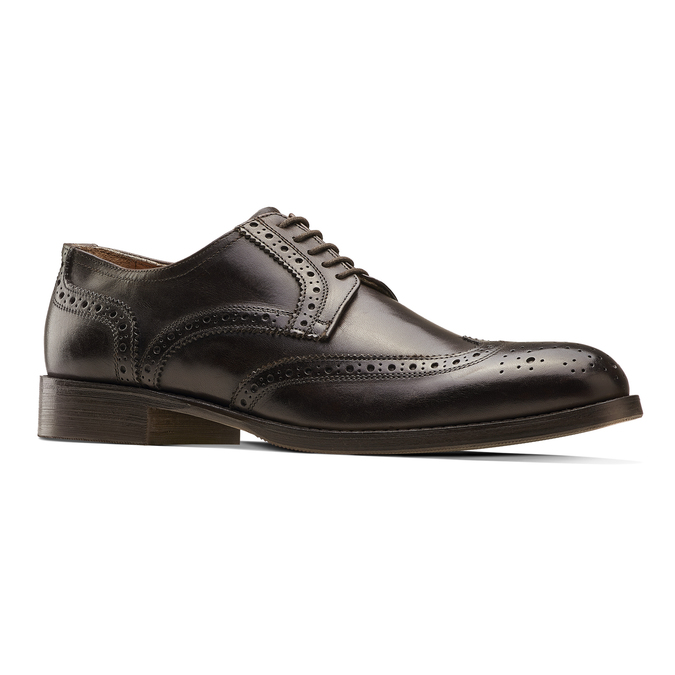 Men's shoes bata-the-shoemaker, Brun, 824-4185 - 13