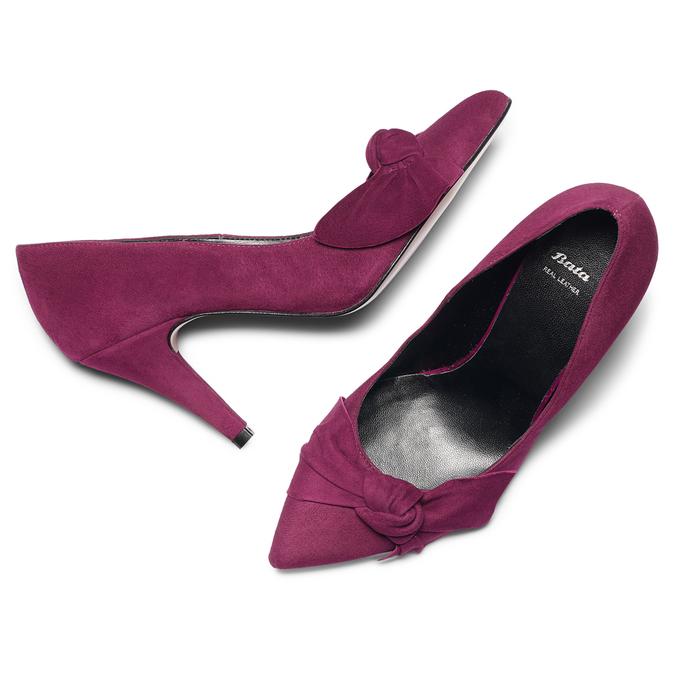 Women's shoes bata, Rouge, 723-5981 - 19