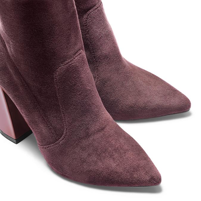 Women's shoes bata, Rouge, 799-5648 - 15
