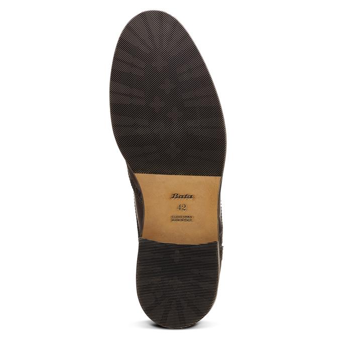 Men's shoes bata-the-shoemaker, Brun, 824-4185 - 17
