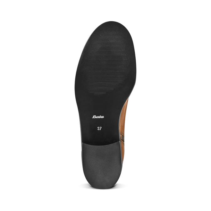 Women's shoes bata, Brun, 594-3325 - 17