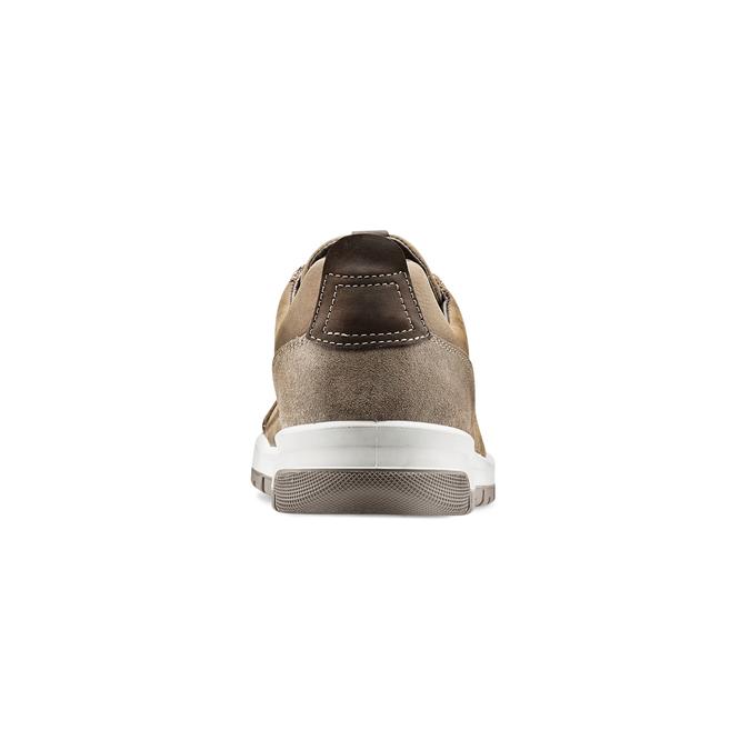 Men's shoes bata, Brun, 846-4105 - 16