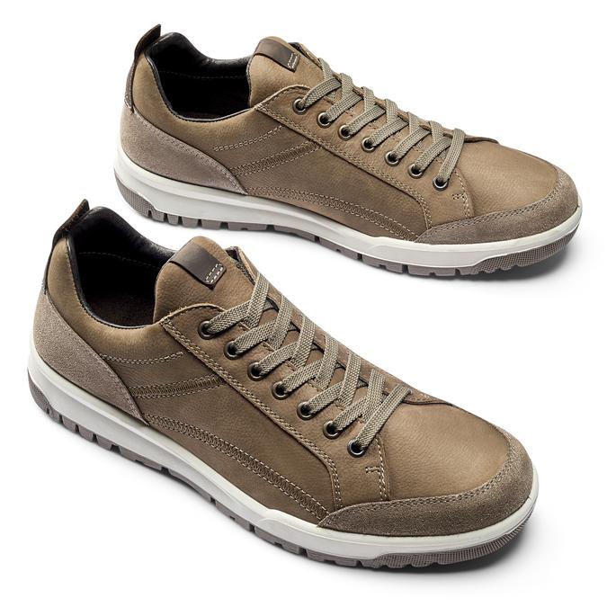 Men's shoes bata, Brun, 846-4105 - 19