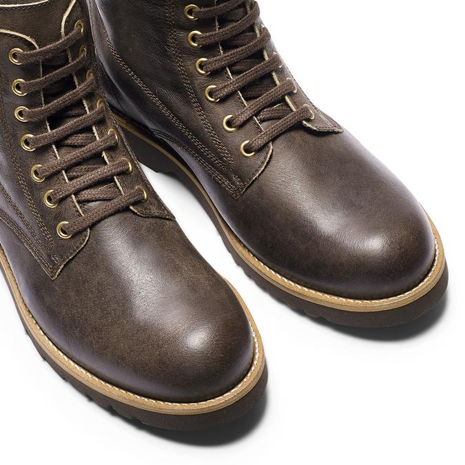 Men's shoes bata, Brun, 894-4117 - 15