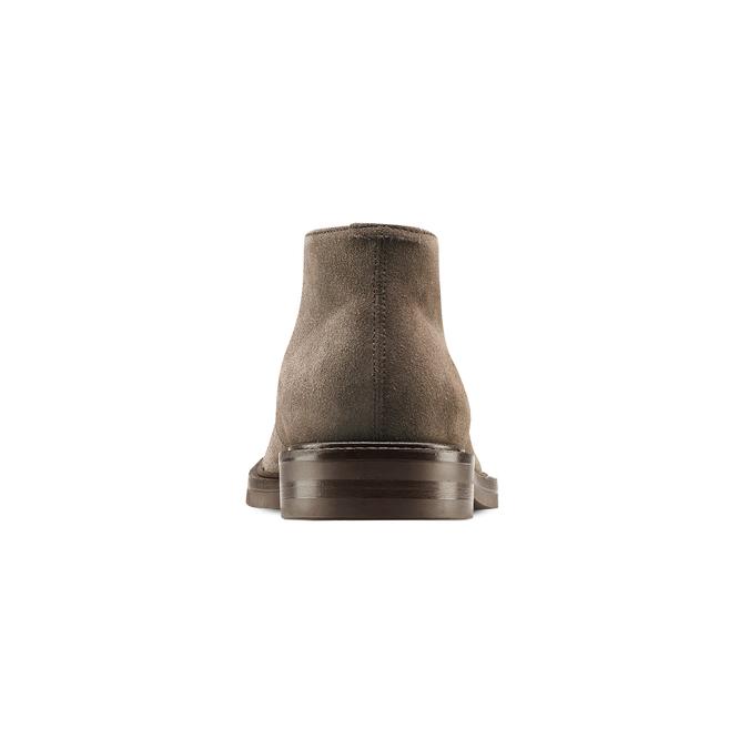 Men's shoes bata, Jaune, 893-8734 - 16
