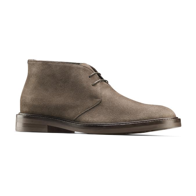 Men's shoes bata, Jaune, 893-8734 - 13