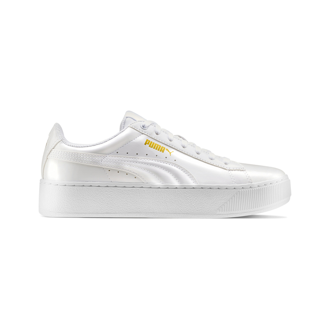 Childrens shoes puma, Blanc, 501-1159 - 26