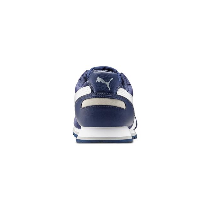 Childrens shoes puma, Bleu, 803-9982 - 16