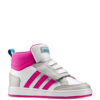 Childrens shoes adidas, Blanc, 101-1292 - 13