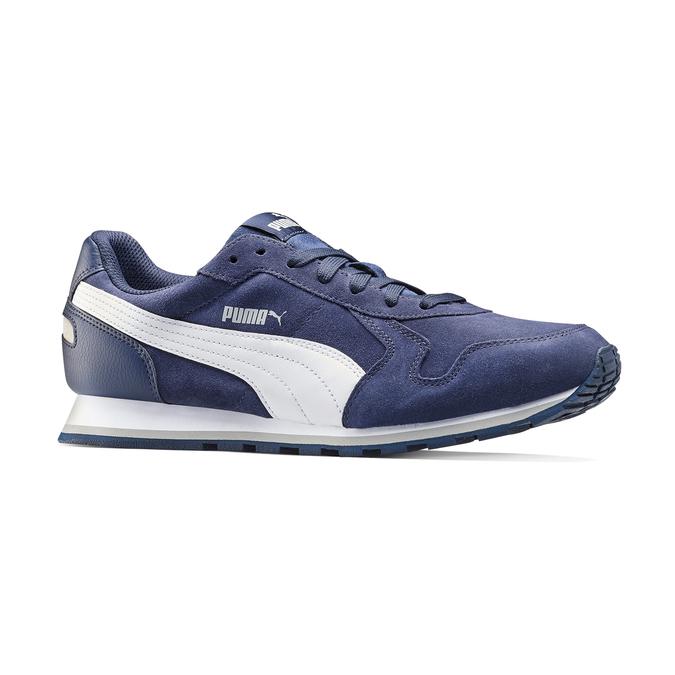 Childrens shoes puma, Bleu, 803-9982 - 13