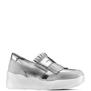Women's shoes bata, Gris, 614-2131 - 13