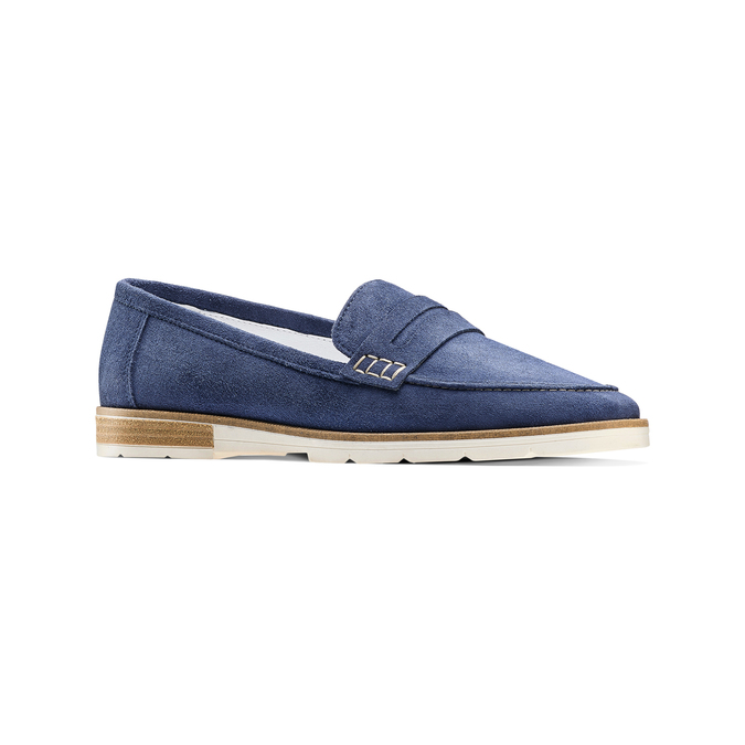 Women's shoes bata-touch-me, Bleu, 513-9181 - 13
