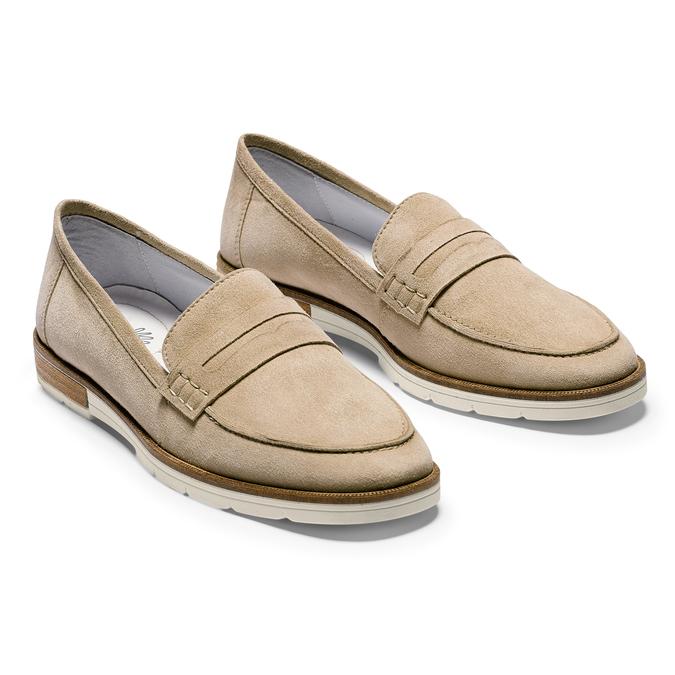 Women's shoes bata-touch-me, Jaune, 513-8181 - 26
