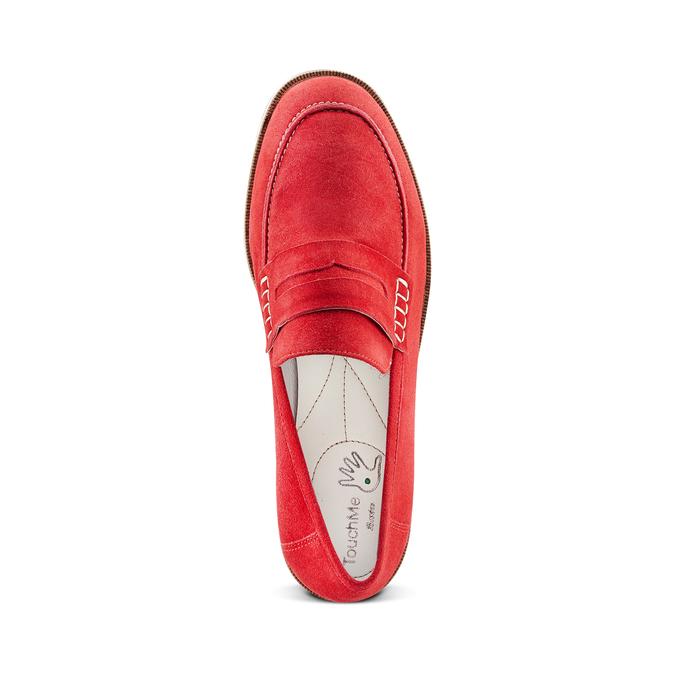 Women's shoes bata-touch-me, Rouge, 513-5181 - 17