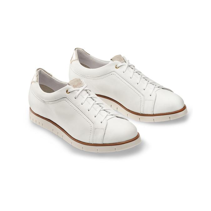 Women's shoes flexible, Blanc, 524-1199 - 16