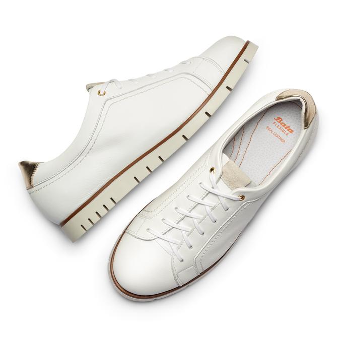 Women's shoes flexible, Blanc, 524-1199 - 26