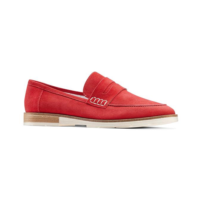 Women's shoes bata-touch-me, Rouge, 513-5181 - 13