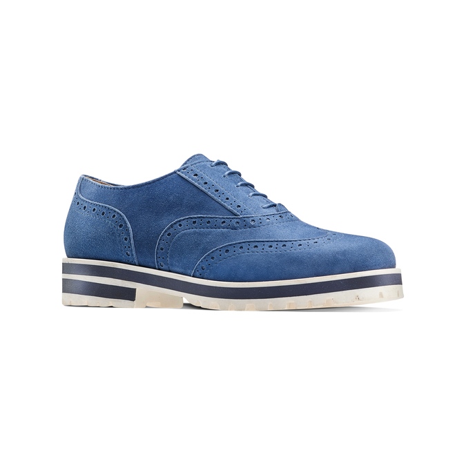 Women's shoes bata, Bleu, 523-9266 - 13