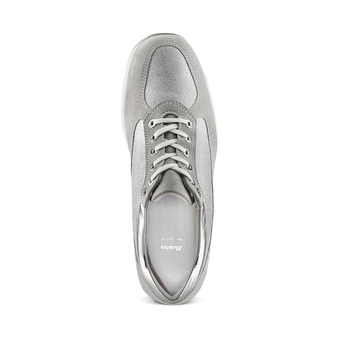 Women's shoes bata, Gris, 523-2306 - 17
