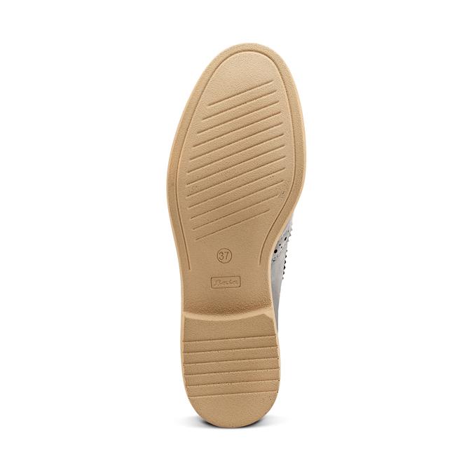 Women's shoes bata, Gris, 529-2277 - 19