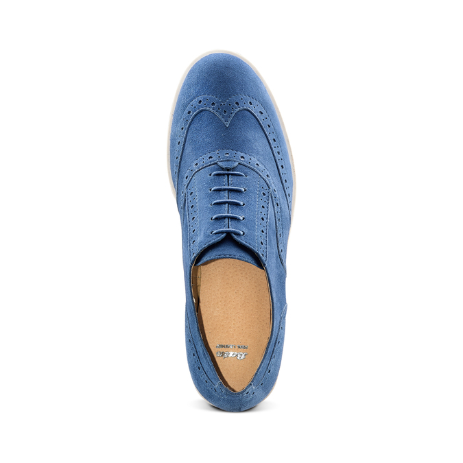 Women's shoes bata, Bleu, 523-9266 - 17