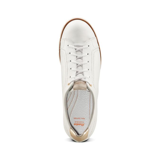 Women's shoes flexible, Blanc, 524-1199 - 17