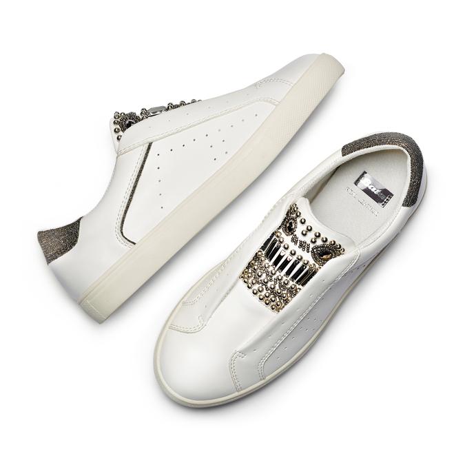 Women's shoes bata, Blanc, 541-1163 - 26