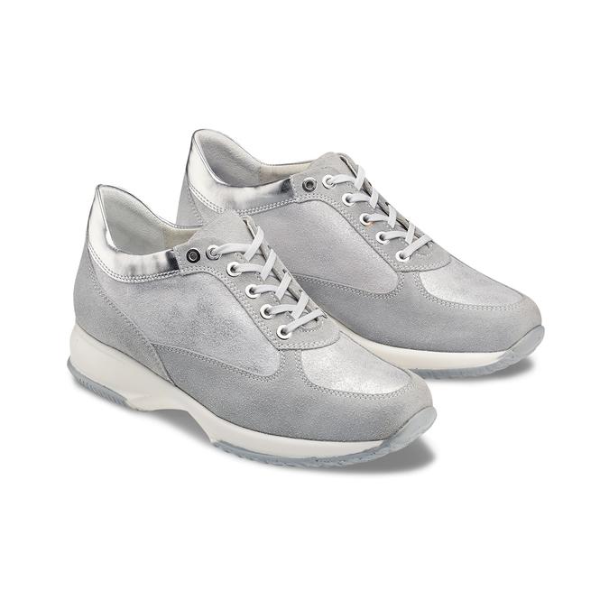Women's shoes bata, Gris, 523-2306 - 16