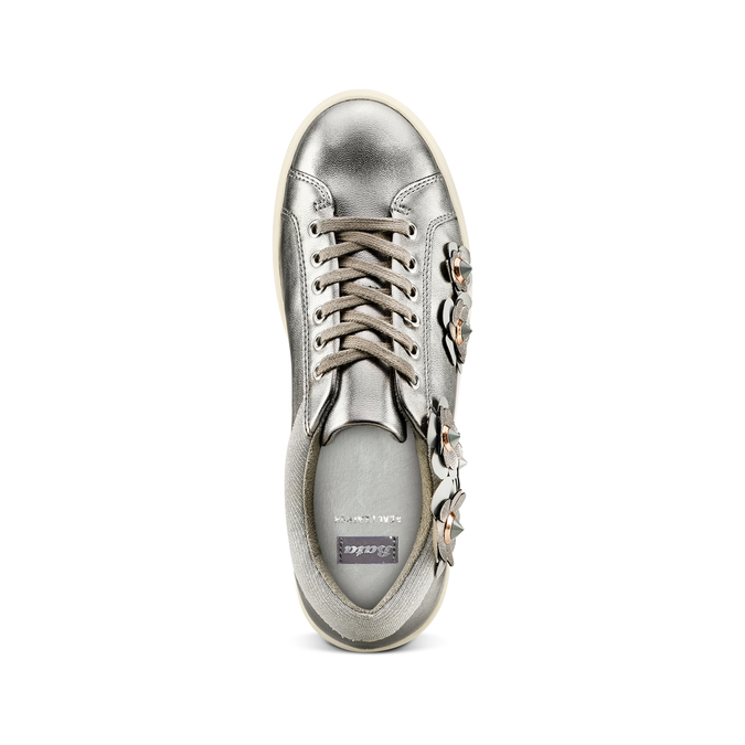 Women's shoes bata, Gris, 541-2166 - 17