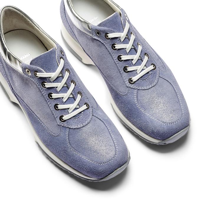 Women's shoes bata, Bleu, 523-9306 - 26