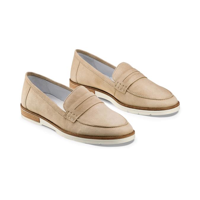 Women's shoes bata-touch-me, Jaune, 513-8181 - 16