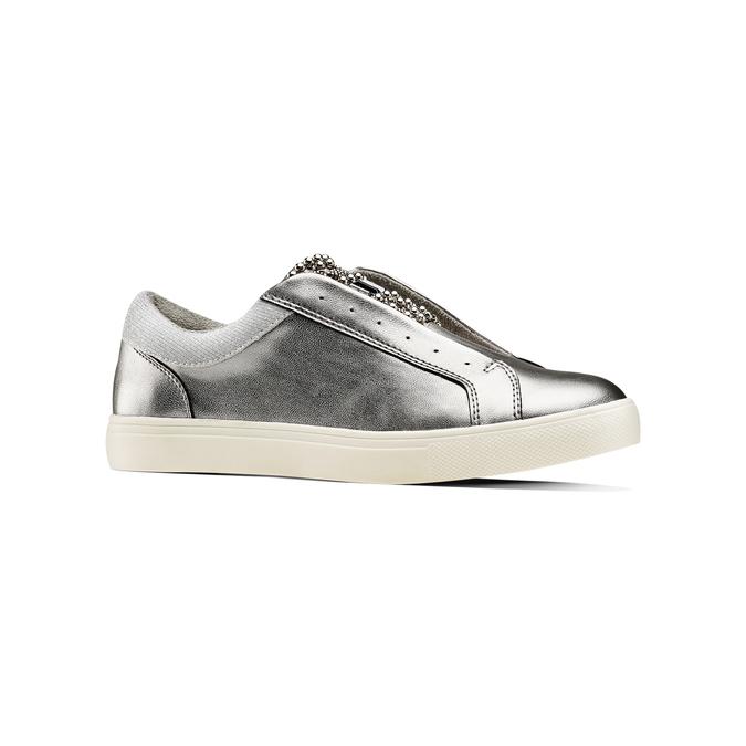 Women's shoes bata, Gris, 541-2163 - 13