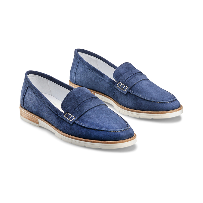 Women's shoes bata-touch-me, Bleu, 513-9181 - 16