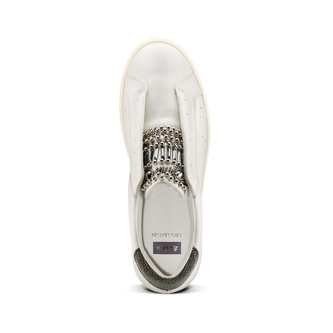 Women's shoes bata, Blanc, 541-1163 - 17